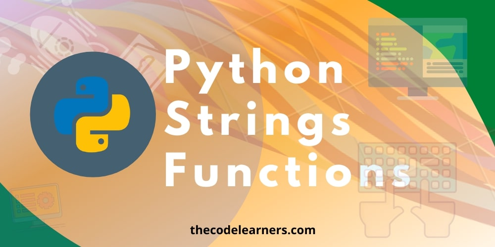 Python Strings Functions