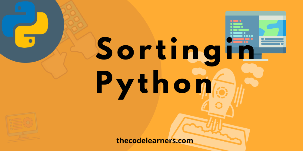 sorting in python