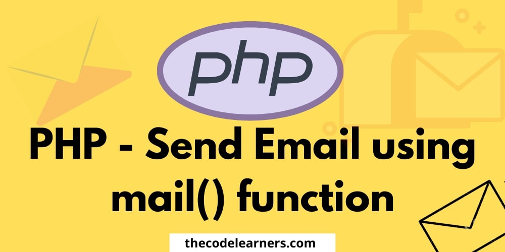 PHP sending email using mail() function