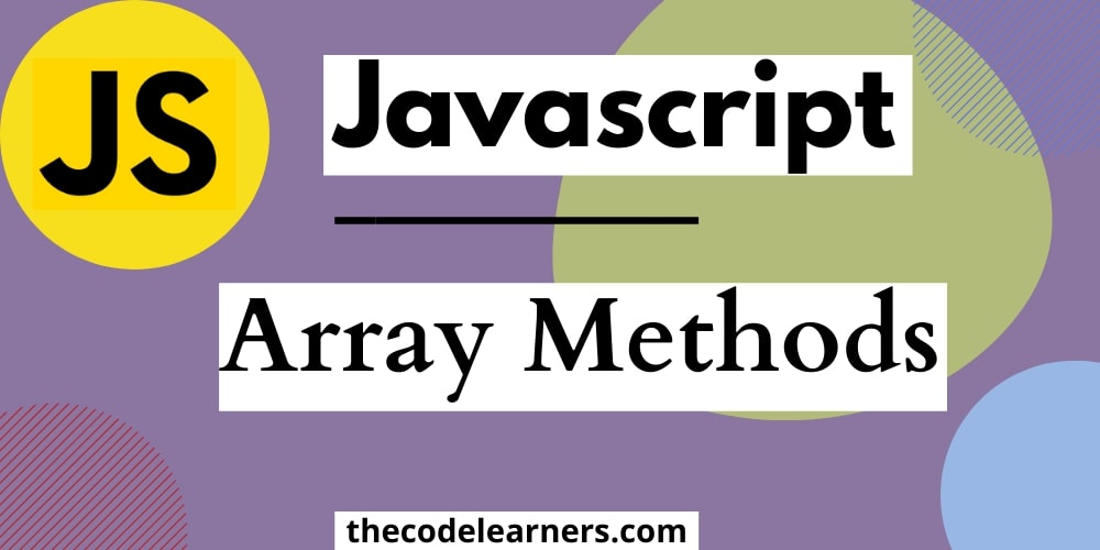 JavaScript Array Methods | push(), pop(), indexOf(), shift(), unshift() etc