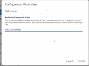 Configure your Oauth Client