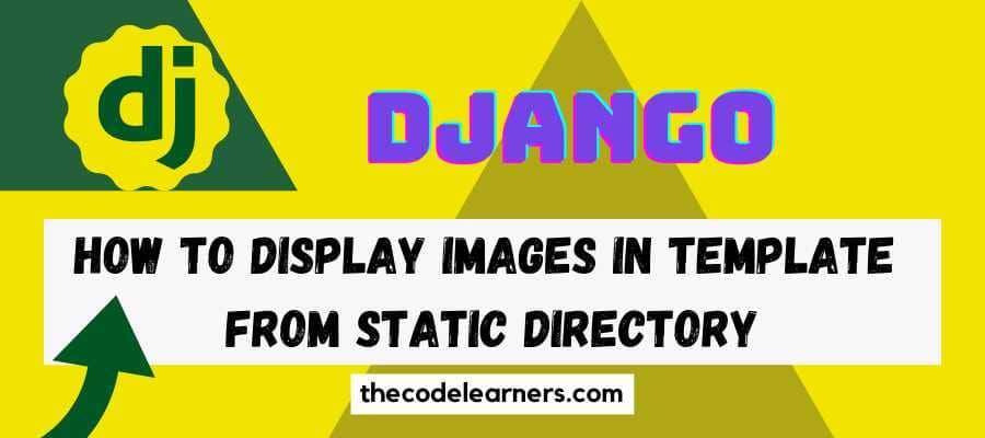 Django Framework - How to Display Images in Template from Static Directory