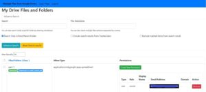 Final Output in Integrating PHP Google Drive API into your Saas Application with User Login