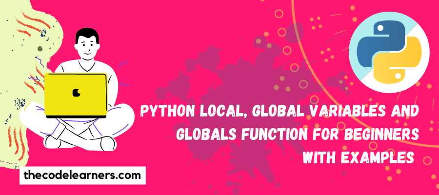 Python Local, Global Variables and Globals Function for Beginners with Examples
